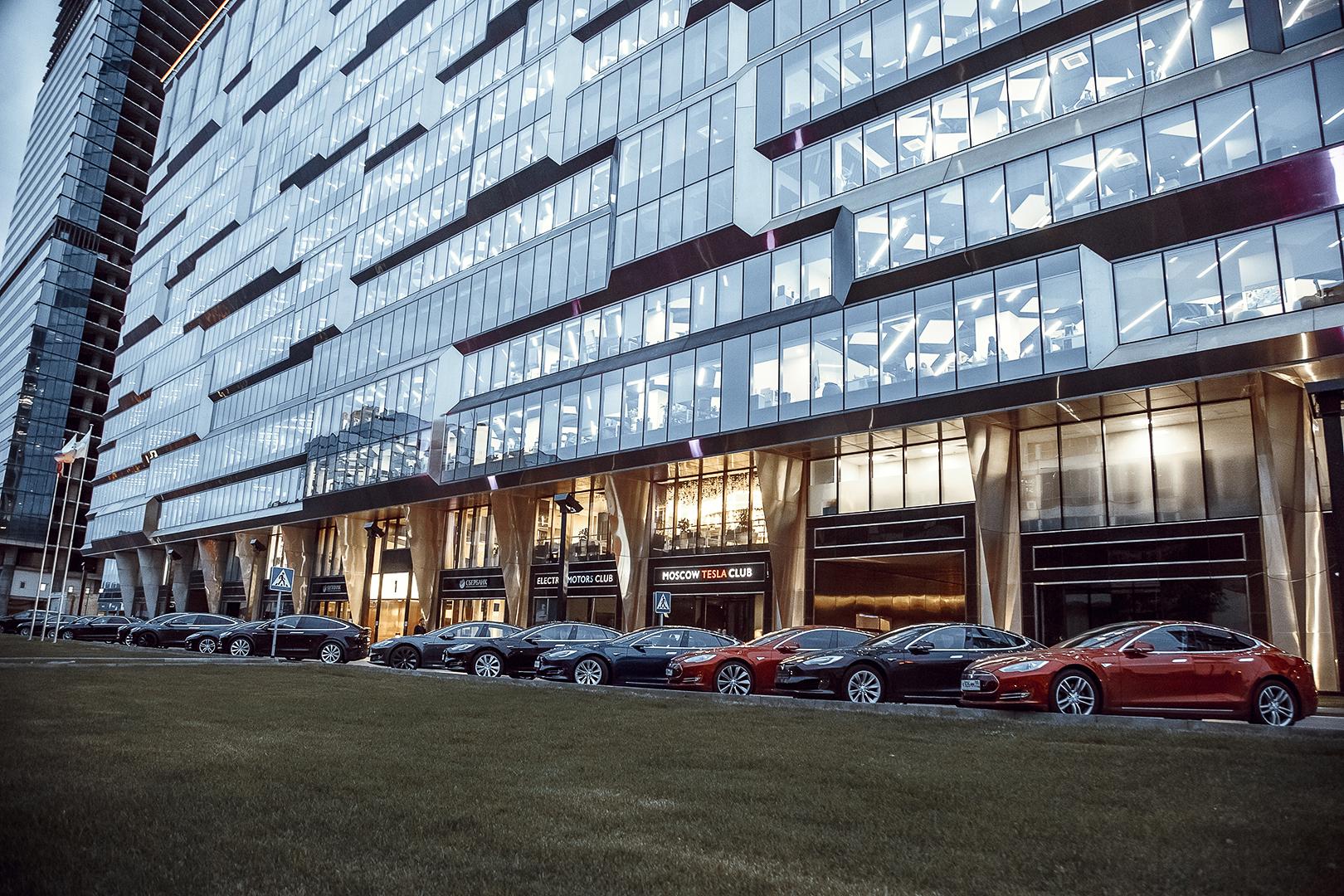 Встреча VIP-членов клуба Moscow Tesla Club